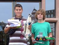 Gewinnes des Solarrennes 2011