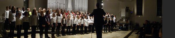 Der Chor der 5. und 6. Klassen